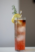 Raspberry Bourbon Cocktail