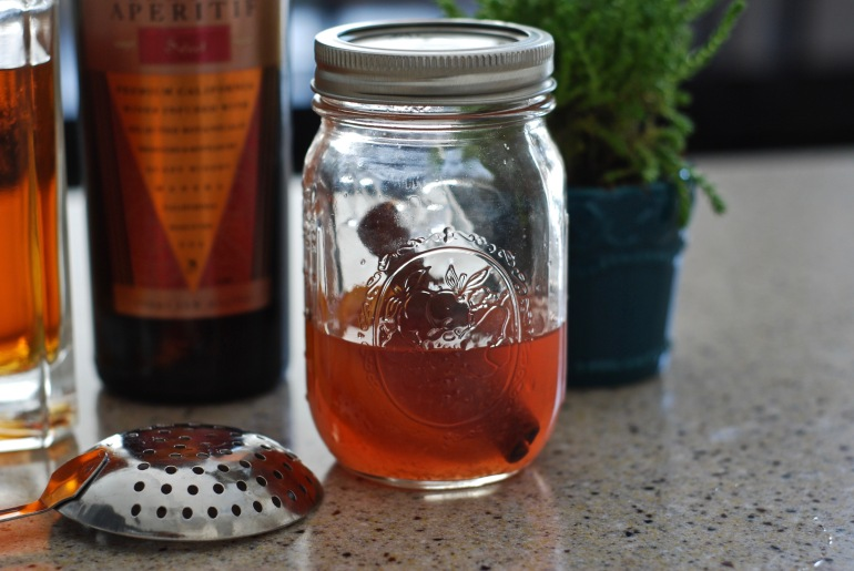 Blood Orange Simple Syrup