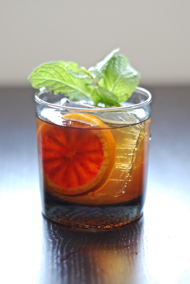 Blood Orange Manhattan